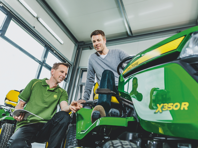 Loxston Groundcare sales team are experienced to offer you the best advice